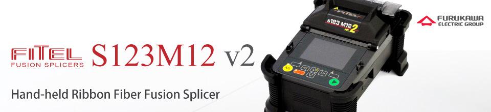 FITEL S123M12 Series Ribbon Fiber Fusion Splicer