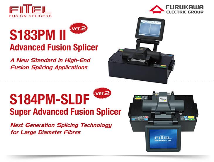 FITEL S183PMII ver.2 and S184PM-SLDF ver.2 Advanced <a href=