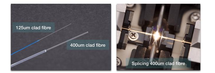 Large Diameter Fibre Splicing