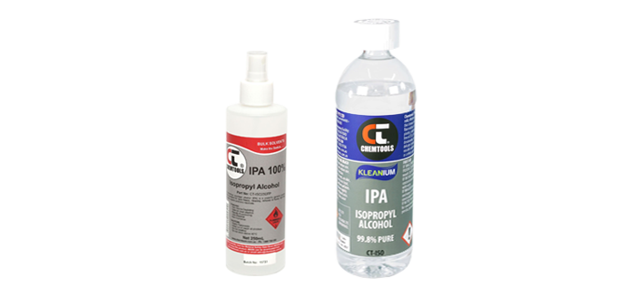 Aerosols / Cleaning solvents