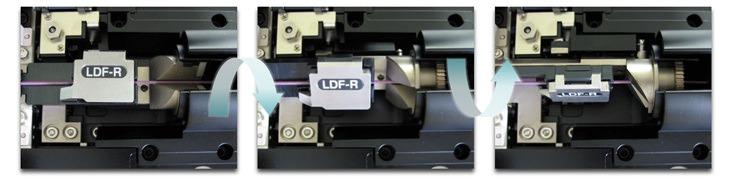 FITEL S183/184 Safe PM fibre rotation