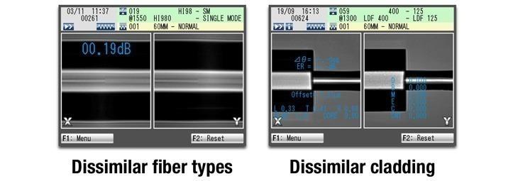 FITEL S183/S184 Dissimilar Fibre Splicing